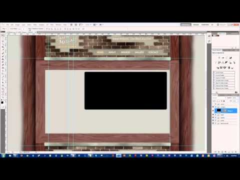 Time Lapse Web Design - Photoshop
