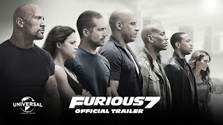 Furious 7 - Official Theatrical Trailer (HD)