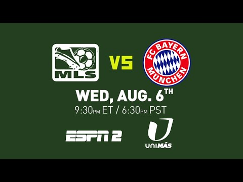 AT&T MLS All-Star Game: Bayern Munich vs. MLS All-Stars | Aug. 6th at 9:30 pm ET on ESPN 2/Unimas klip izle
