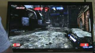Panasonic TC-P54G10 54inch & PS3 in Unreal 3