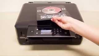 How to Copy CD/DVD Labels (Epson XP-900, XP-640, XP-645, XP-630/635, XP-620/625) NPD5338