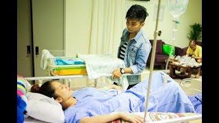 Khánh Thi nhập viện c.ấ.p c.ứ.u lúc nửa đêm, sinh m.ổ con gái