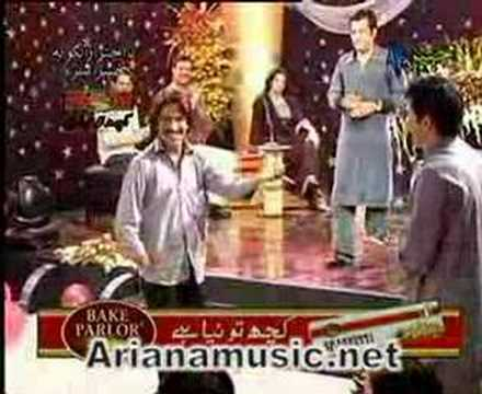 Avt Khyber Eid Show 07 - Part 4 - Ro Ro Raza - Humayon Khan video