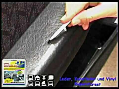 Reparar reparacion de cuero piel o vinilo en automoviles for Como reparar un cristal agrietado