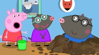 Peppa Pig Full Episodes - Molly Mole - Cartoons for Children