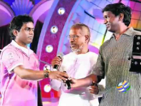 Ilayaraja,yuvan and Karthik raja sings for NEP