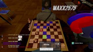 INTENSE CHESS MATCH | Garry's Mod Funniest Moments #2 Ft. Maxx