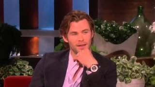 Chris Hemsworth on His Brother Liam - The Ellen Degeneres Show 2013