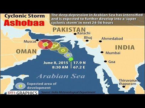 Cyclone Ashobaa ensures heavy rainfall in Mumbai