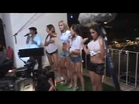 Wet T-shirt Contest (playeras Mojadas) Sky Garden With Mtv Russia video