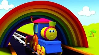 BOB EL TREN EN UN PASEO DE COLORES | Bob, The Train On A Color Ride