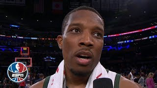 Eric Bledsoe talks 31-point performance vs. Lakers after contract extension | After the Buzzer