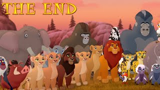 Lion Guard: THE END - King Kion & Queen Rani! Return to the Pride Lands Season 3 Clip