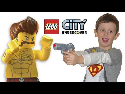 Lego City Undercover Лего сити прохождение PS4 Эпизод #1. Funny Danny Show