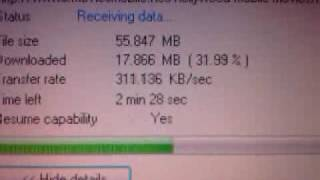 Reliance 3.1 Mbps Data Card Speed Test.