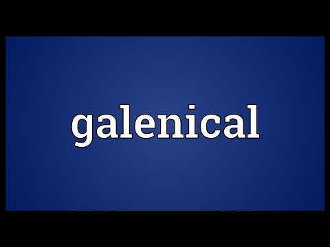 Header of galenical