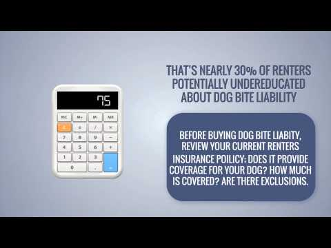 Does Renters Insurance Cover Dog Bite Liability?
