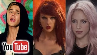 Top 100 Most Viewed Music Videos