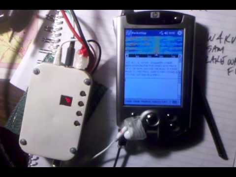 Ats-3b & pocket pc doing psk-31