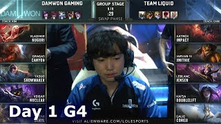 DWG vs TL | Day 1 S9 LoL Worlds 2019 Group Stage | DAMWON Gaming vs Team Liquid