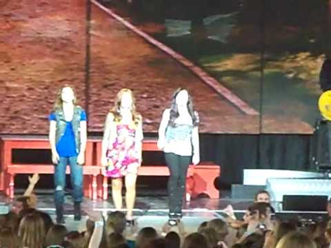 Brand New Day-Demi Lovato & Camp Rock 2 Cast-8/8/10