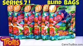 Series 7 Trolls Blind Bags Hug N Reveal Color Changers Toys Dreamworks Opening Surprises