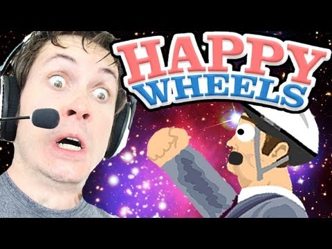 Happy Wheels - FREAKING OUTER SPACE