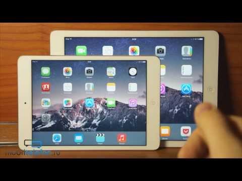 Обзор и сравнение iPad Air и iPad mini Retina: большой и маленький (review)