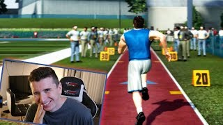 Running The Combine & Getting Drafted! Madden 07 Superstar Mode!