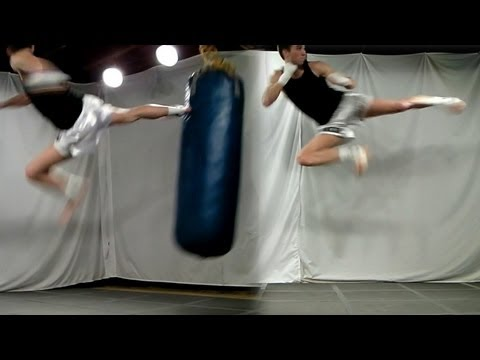 Taekwondo Flying Side Kick Tutorial (Kwonkicker)