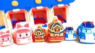 Robocar poli mini transformation rescue set play. | Joytoy