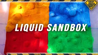 Would You Swim In Liquid Sand?
