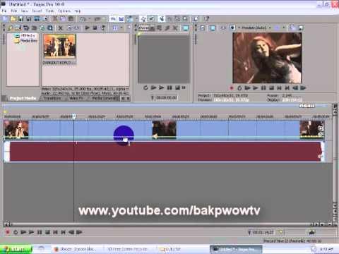 Cara Mempercepat dan Memperlambat Video Dengan Sony Vegas Pro 10