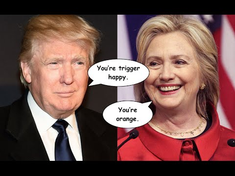 "Donald Trump Hits Hillary Clinton on Foreign Policy: ""She's Trigger Happy"""