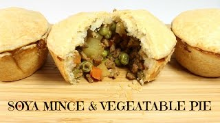 VEGAN MINCE & VEGETABLE PIE   WHO ATE ALL THE PIES...