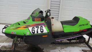1998 Arctic Cat ZR440 Sno Pro Race Sled, For Sale Parts Only Not Entire Machine.