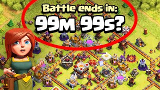 "Clash of Clans ""INFINITE Attack Replay"" Strange But True Stories of Clash!"