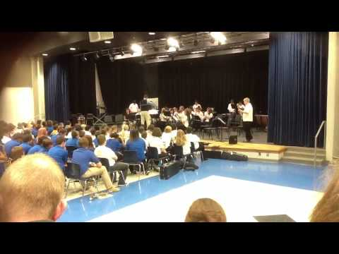 West Jessamine Middle School - 8th grade band - March 2013