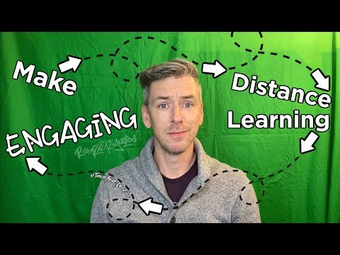 Making Distance Learning Engaging!