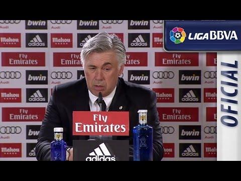 Rueda de Prensa | Press Conference de Ancelotti tras el Real Madrid (3-0) Levante UD - HD