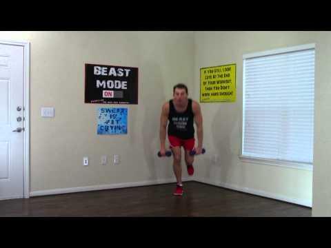 8 Minute Leg Workout - HASfit Home Leg Exercises - Legs Exercises - Best Legs Workouts