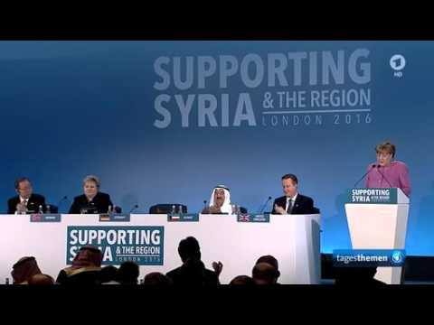 Syria Donors Conference in London: Neun Milliarden Euro an Hilfen, Hanni Hüsch , ARD London