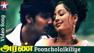 Aran Tamil Movie Songs HD | Pooncholaikiliye Song | Jeeva | Gopika | Mohanlal | RB Choudary
