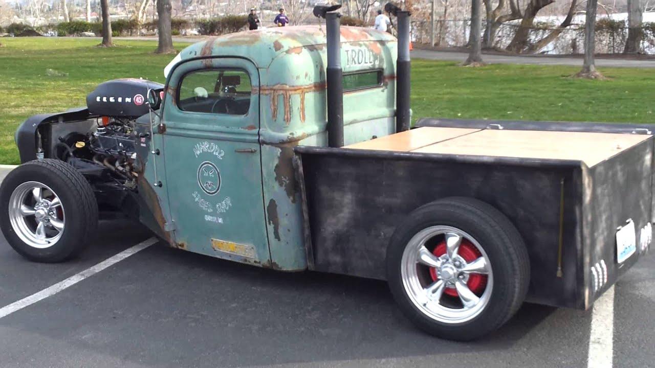 Chevy Diesel Trucks For Sale >> rat rod vs lamborghini lambo truck Cole Wilson rat rod ...