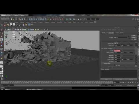 Maya nCloth Destruction Tutorial