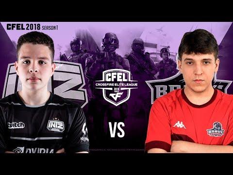 #CFEL - Rodada 2 - INTZ  vs. BRAVE / IMPERIAL vs. VINCIT / FPS4EVER vs. RUDE