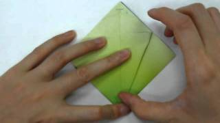 How To Make - Origami Morning Glory