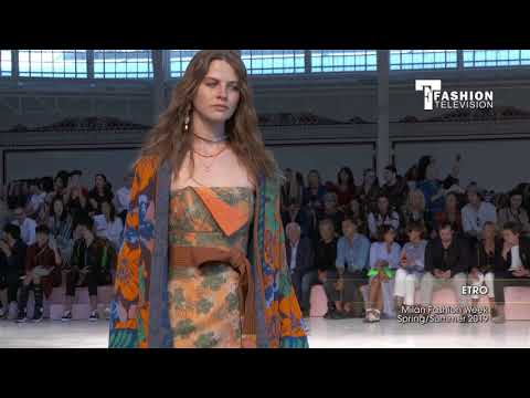 ETRO Milan Fashion Week Spring/Summer 2019