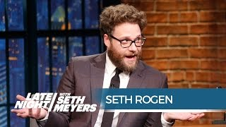 Seth Rogen's Personal Sony Hack Aftermath - Late Night with Seth Meyers