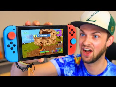 You've *NEVER* seen THIS before... (Fortnite: Battle Royale Nintendo Switch)